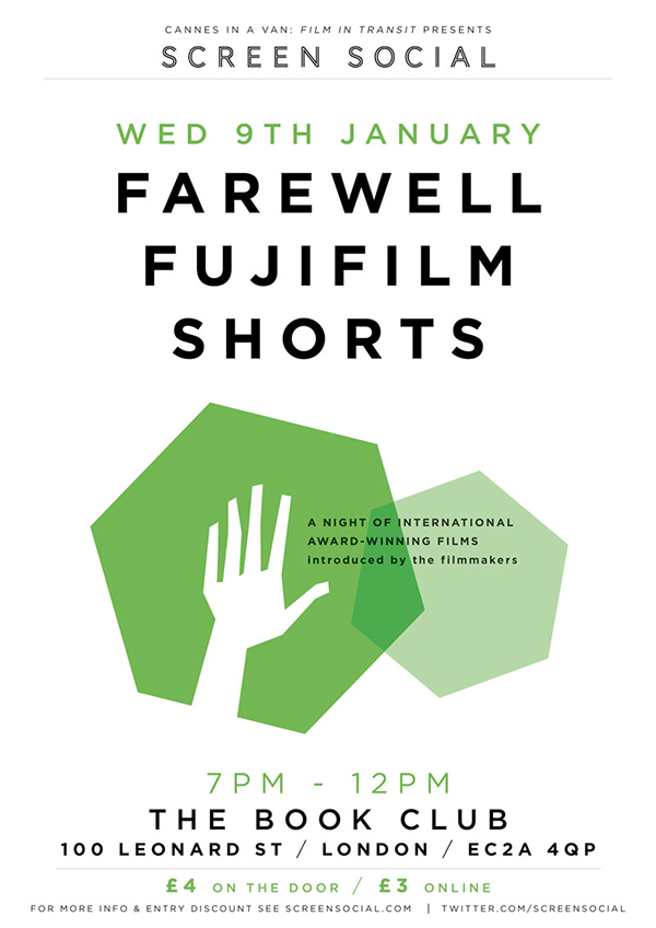 Screen Social: Farewell Fujifilm Shorts 09.01.13