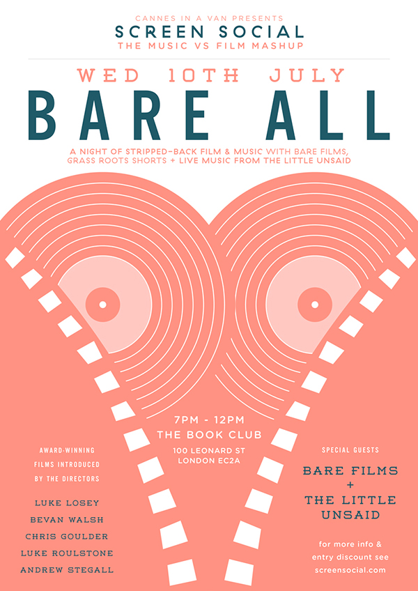 Screen Social 10.07.13 BARE ALL (ft. Bare Films)