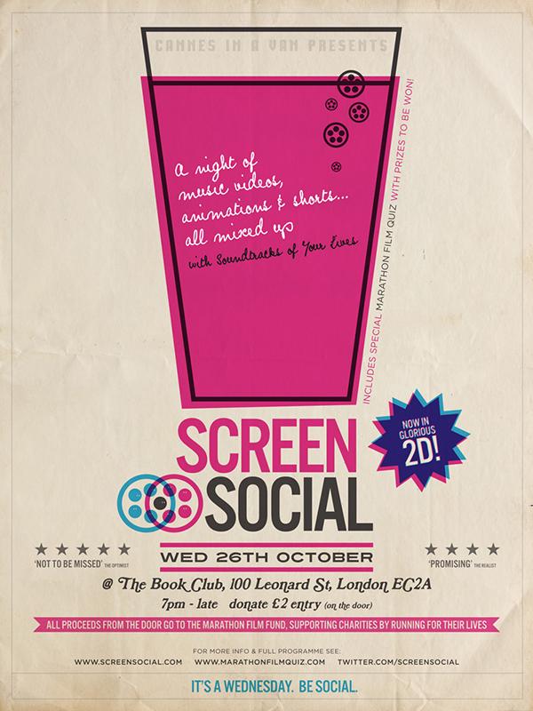 Screen Social: 26.10.11