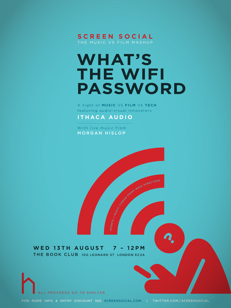 Screen Social #28: What's the WiFi Password?