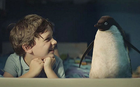 Penguins & Kids: John Lewis Saves the World with a little help from Tom Odell