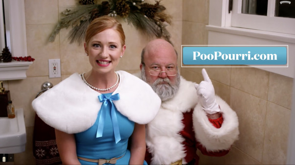 Yuletide Logs & Gingerbread Manslaughter: Poo-Pourri's Festive Punditry
