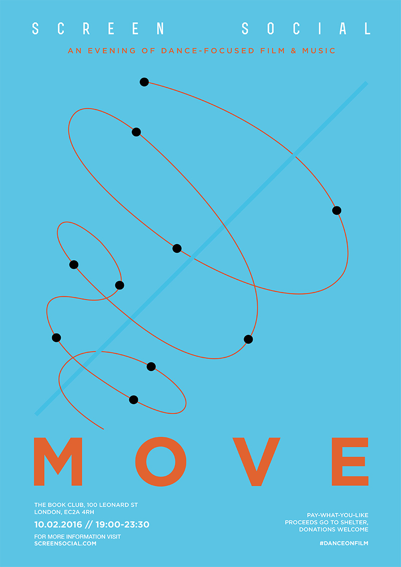 Screen Social #36 : MOVE – Dance On Film